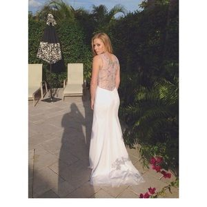 Dresses & Skirts - White prom dress